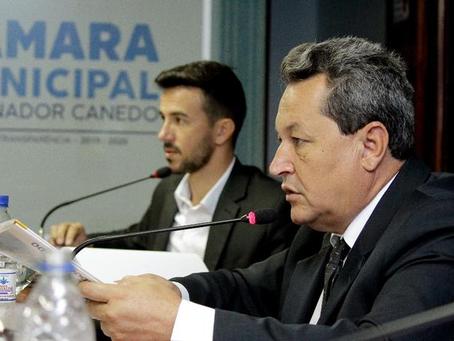 """""""Plano Diretor trará mais desenvolvimento a Senador Canedo"""", afirma dr. Reinaldo Alves."""