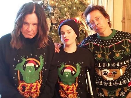 Ozzy Osbourne, lenda da banda de rock Black Sabbath, disponibiliza a sua Playlist de Natal.