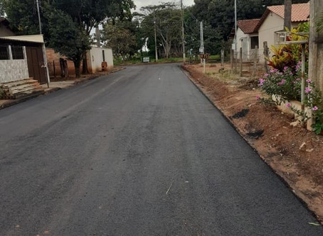 Senador Canedo [Infraestrutura]: Pavimentação da Vila da Emgopa já é realidade.
