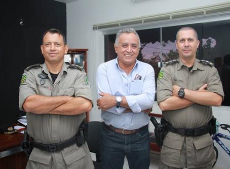 Senador Canedo: [Segurança] Novo comandante do 27º Batalhão anuncia adequações e parcerias.