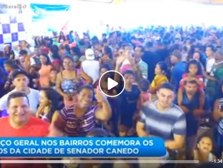 Balanço Geral nos bairros agitou mais um aniversário de Senador Canedo.