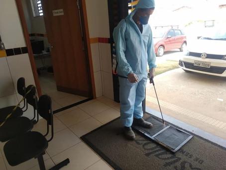 Protocolos de segurança são efetuados no Combate ao Coronavírus