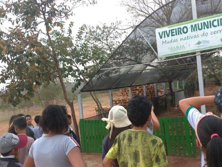 S. Canedo [Meio Ambiente]: Alunos participam de aula prática sobre consumo sustentável e lixo urbano