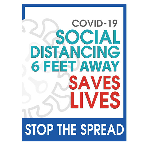 """Stop the Spread Save Lives"""