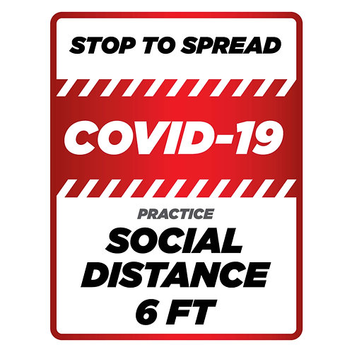 Stop the Spread, Social Distance