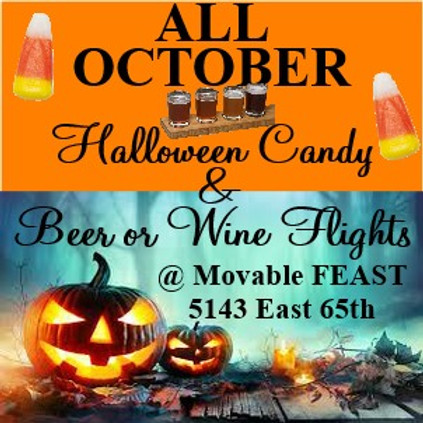 Halloween Candy & Wine or Beer Pairing