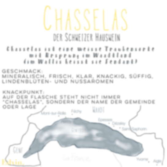 Chasselas Fendant Wine Map