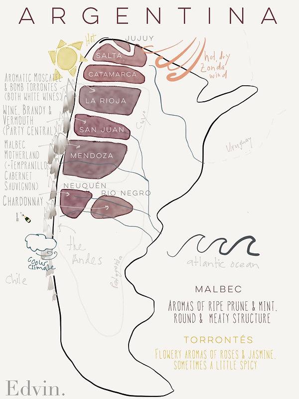 Mendoza Weinregion