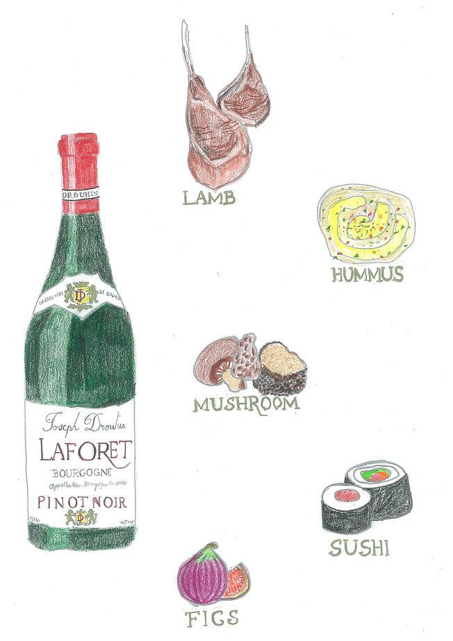 Pinot Noir Food & Wine Pairing