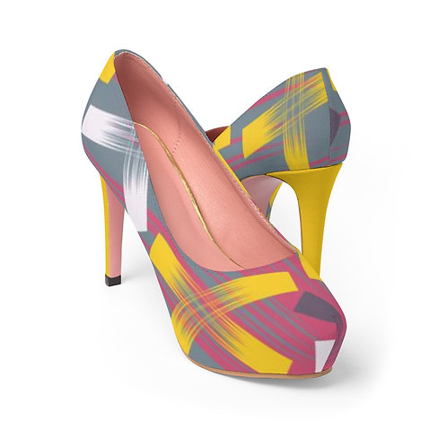 X Marks the Spot Women's Platform Heels