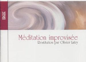 LITAIZE Gaston, Méditation improvisée