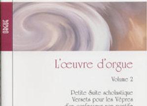 SEVERAC Déodat (de), L'oeuvre d'orgue, Volume 2