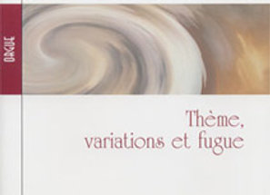 ARGENCE Louis, Thème, variation et fugue sur «Dio vi Salvi Regina».