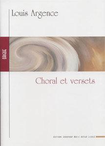 """ARGENCE Louis (1929), Choral et versets sur """"Ave maris stella""""."""