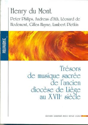 DU MONT Henry, Trésors de musique sacrée dans l'ancien diocèse de Liège au 17e s