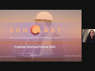Suncast obtiene el segundo lugar en el concurso Trophée Startup 2021