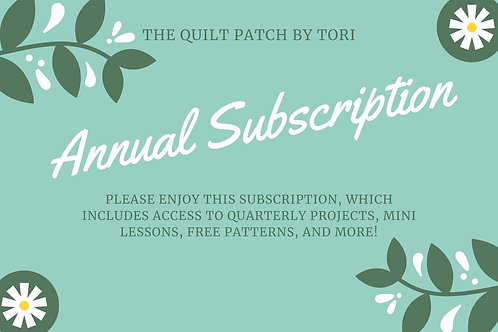 Annual Patches Subscription