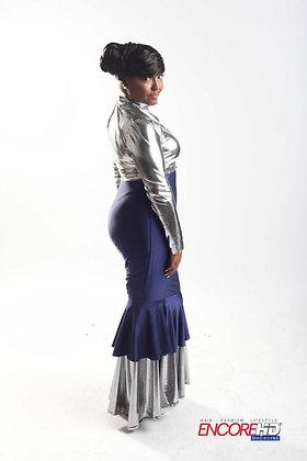 Stretch Jersey Mermaid Dress