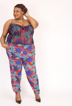 Resort bustier and Pant