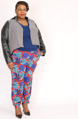 Resort Pant with Houndstooth Jacket