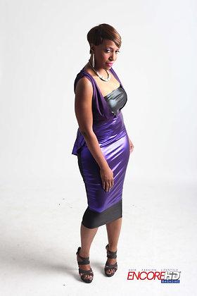 Stretch Jersey pencil skirt