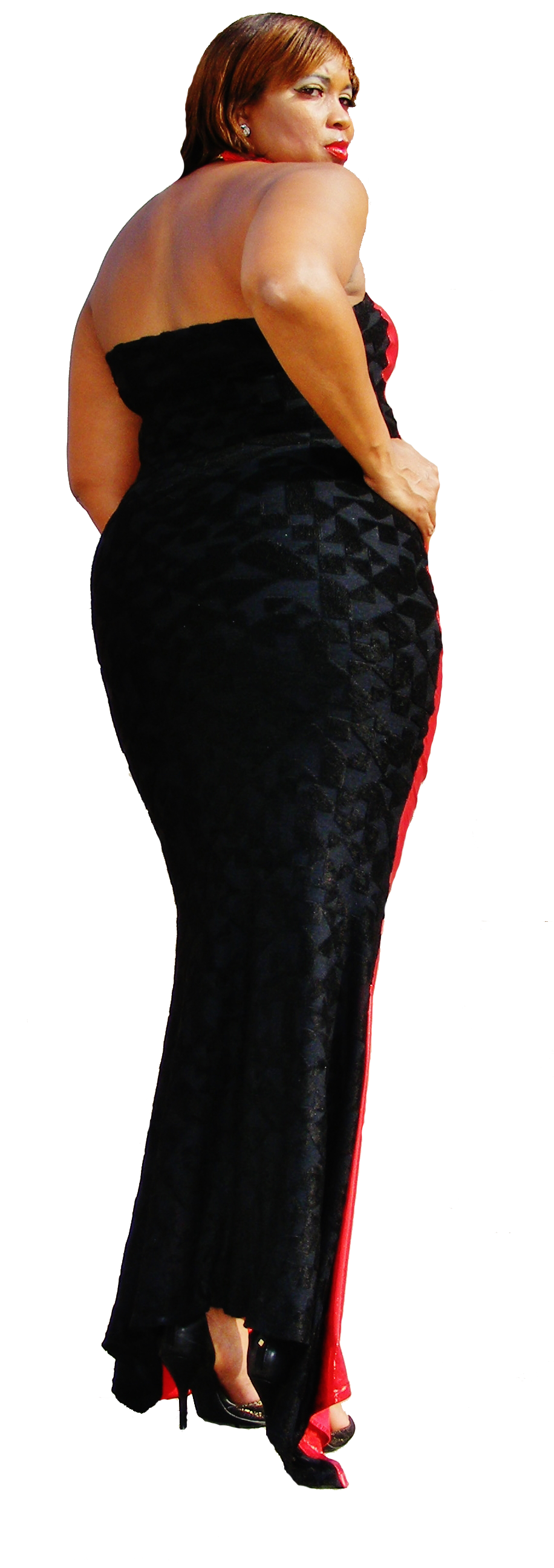 Red Carpet Two Sided Dress