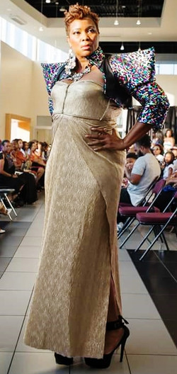 Show Piece Gown with Jacket