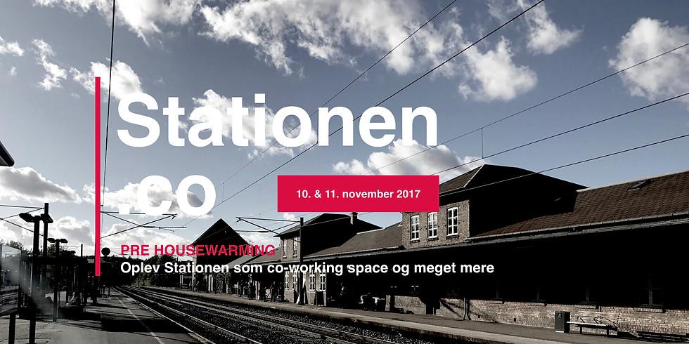 Stationen.co HOUSEWARMING