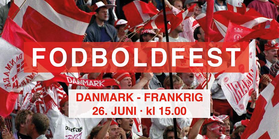 FODBOLDFEST · Danmark - Frankrig
