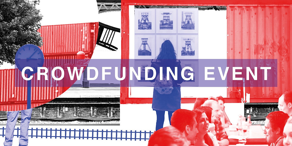 Crowdfunding event på Stationen · 5. oktober 2018