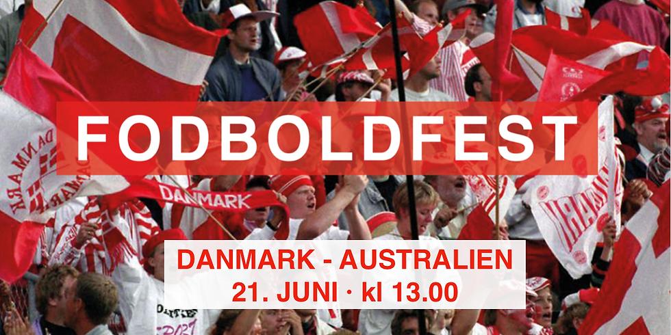FODBOLDFEST · Danmark - Australien