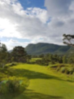 Preikestolen Golfklubb hull 5