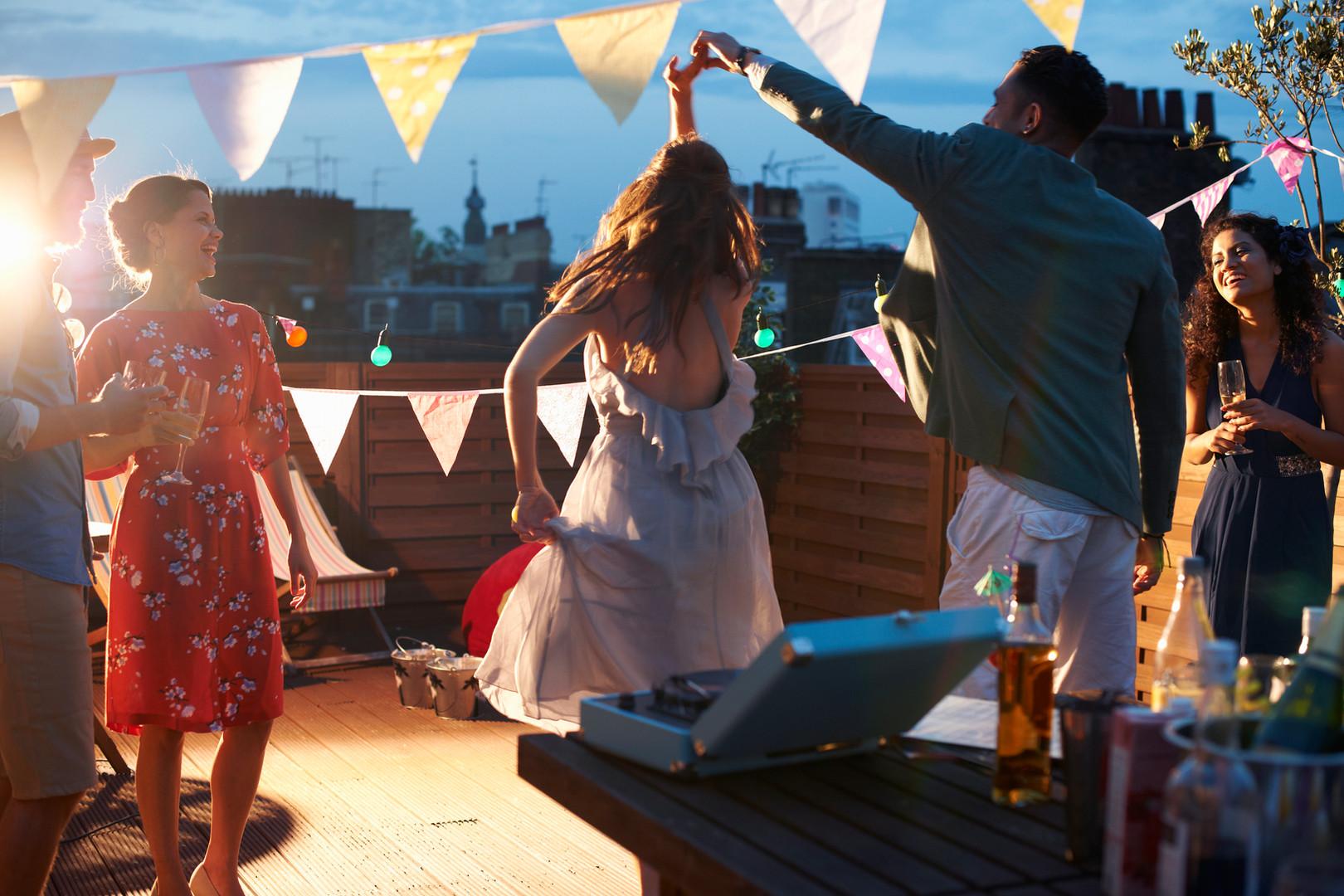 Tanzen an der Hochzeit