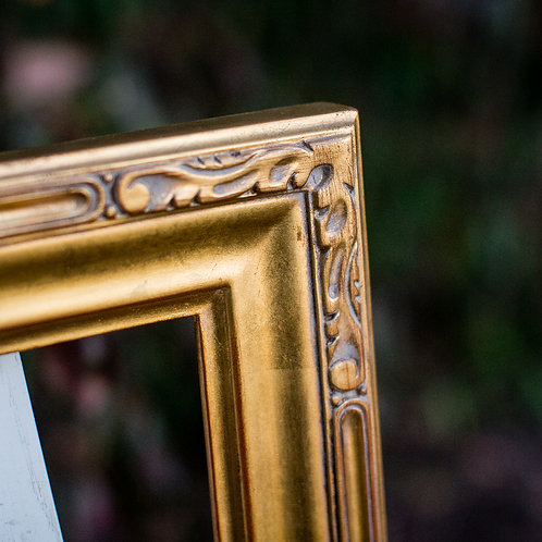 16x20 gold frame (with gold leafing)