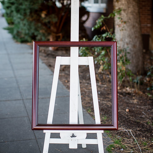 24x22.5 cherry frame