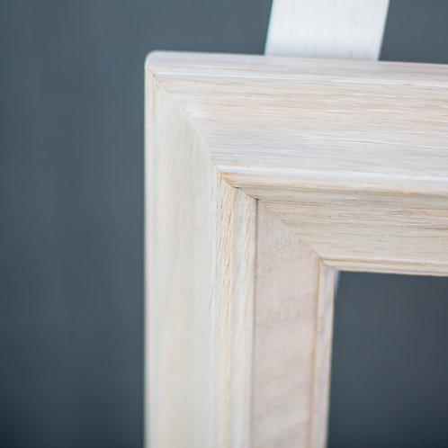 11x14 white washed oak frame