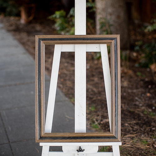 15x20 brown and black frame
