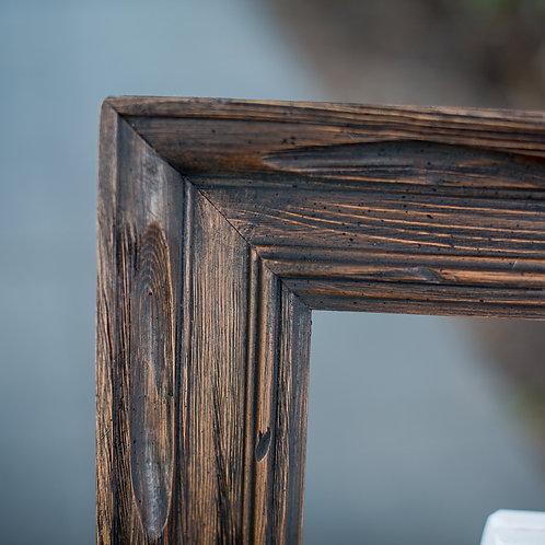 18x24 carved wood frame
