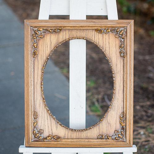 11x14 vintage frame with acorn corners