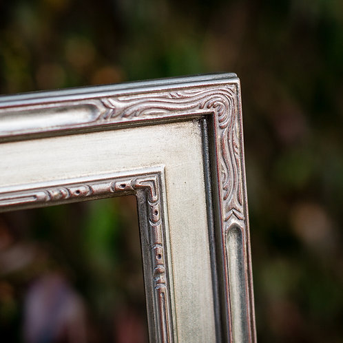 20x24 silver frame (with silver leafing)