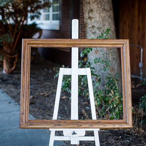 28x35 oak frame