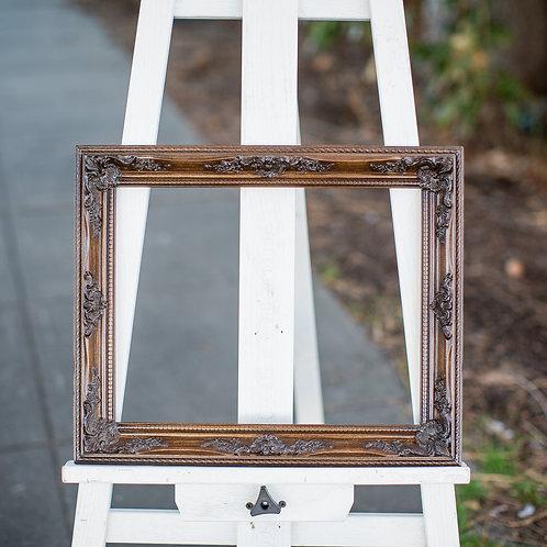 11x14 ornate brown frame