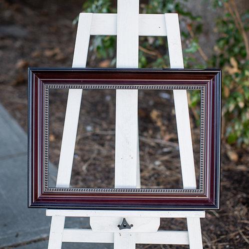 12x18 cherry frame