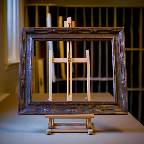 16x20 rustic wood frame