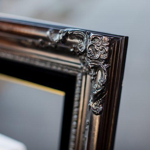 20x24 Brown & Black Ornate Frame