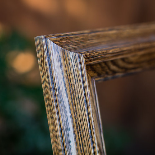 36x48 oak frame