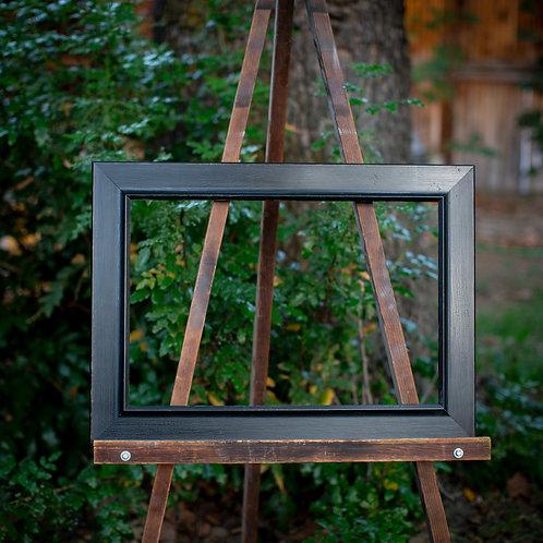 16x24 antique black frame