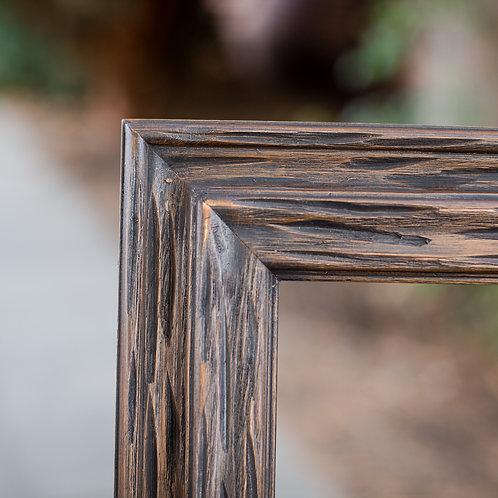 30.25x40 carved wood frame