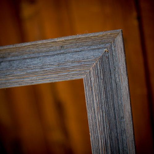 28x40 rustic barnwood frame