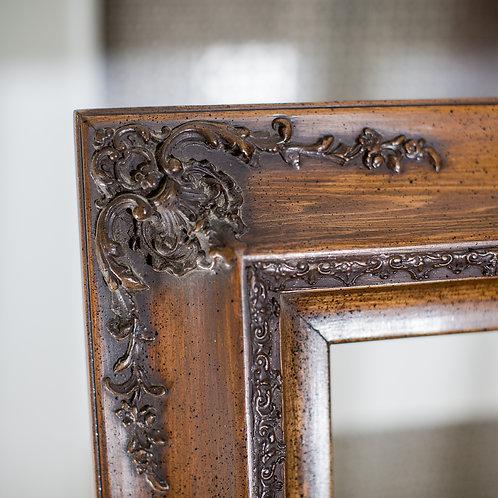 20X24 Ornate Oak Frame